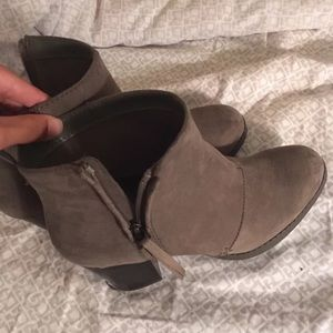 Gray Suede Old Navy Boots